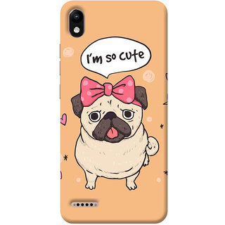 FurnishFantasy Mobile Back Cover for Infinix Smart 2 (Product ID - 1471)