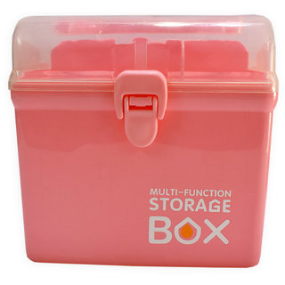 6th Dimensions Multi-Function Storage Box (Pink)
