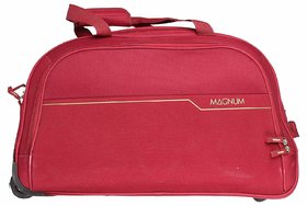 Safari Magnum 55 Duffel Trolley Bag Red