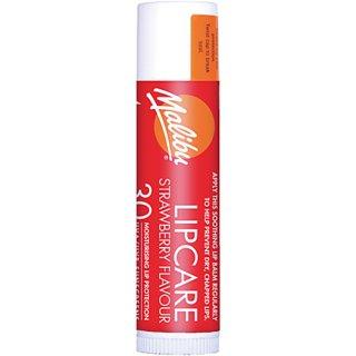 Malibu Sun Stick Strawberry Flavor Moisturizing water resistant Lip Balm SPF 30 4g