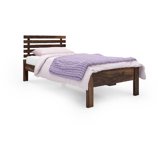 Vilnius Sheesham Wood Single Bed