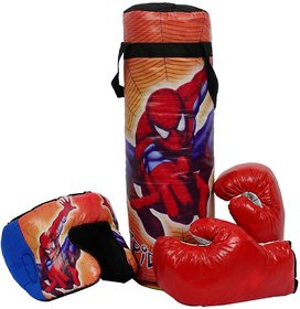 BOXING KIT PUNCHING BAG FOR KIDS ( CHARACTERS MAY VARY)