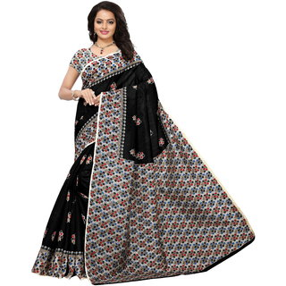071e0ef5c7 Buy Glamour Black Silk Embellished Saree With Blouse Online - Get 81% Off