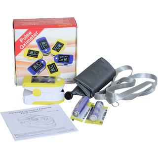 Gent-X JZK-301 Pulse Oximeter (Yellow)