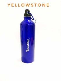 Jaycoknit Yellowstone BlueBuzz Metal Handy Water Bottle,Pack of 1,Blue,500 ml