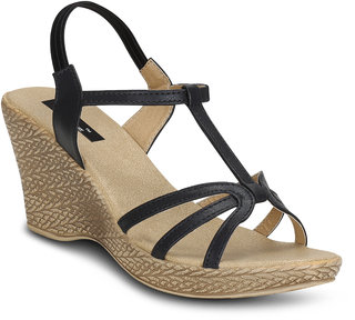 Kielz-Black-Women-Wedges-Sandals