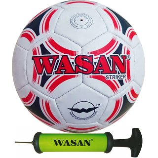 Wasan Striker Football Red White with Free Pump (12 years and above)