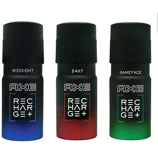 Axe Deo Deodorabts Body Spray For Men - combo (pcs 3)