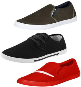 Super Men Combo Pack of 3 Casual Sneaker Shoes