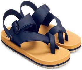 Adda Beige Color Sandals For Men