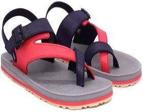 Adda Grey Color Sandals For Men