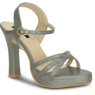 68830569bfb8 Buy Kielz-Grey-Women-Stilettos-Sandals Online - Get 44% Off