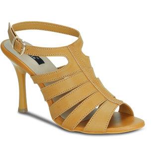 9332a84ebe3 Buy Kielz-Camel-Women s-Stiletto-Sandals Online - Get 60% Off