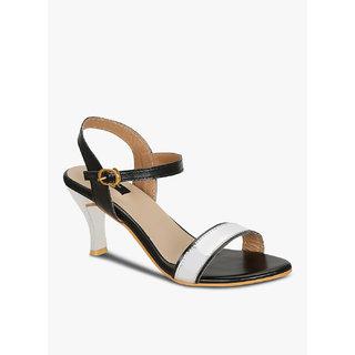 Kielz-Women's-Black-Sandals