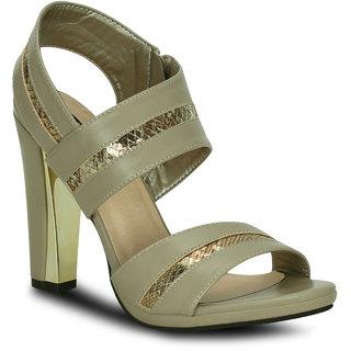 Kielz-Women's-Beige-Block-Heel-Sandals