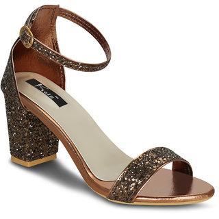 1d0d13d69f0 Buy Kielz-Copper-Block-Heel-Sandals Online - Get 64% Off