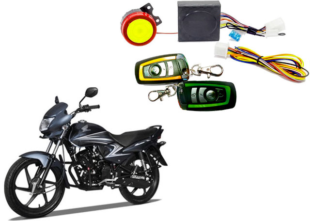 Bike Alarm Security System Kit for Honda Dream Yuga