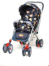 DealBindaas Pram Stroller Foldable Assorted Colour