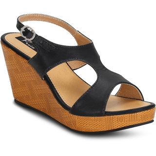 5709f166dd81 Buy Kielz-Black-Platform-Women s-Sandals Online - Get 53% Off