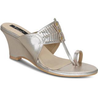 b9412f39522 Buy Kielz-Gold-Wedge-Sandals Online - Get 60% Off