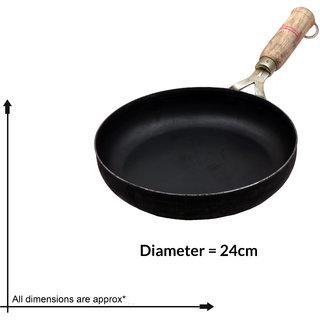 Navbharat cast iron non-stick fry pan