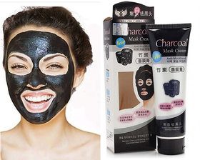 Blackhead Remover Mask, Suction Black Mask, ToullGo Purifying Blackhead Black Pore Removal Peel off Strip Charcoal Mask for Face Nose - Deep Clean Facial Mask