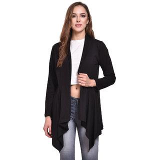 Klick2Style Stylish Long Full Sleeves Winter Shrug