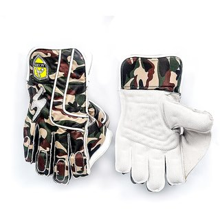 Acorn Wicket Keeping Gloves - Top Quality (Pure Leather)