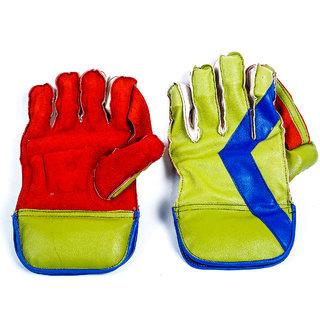 Acorn Cricket Wicket Keeping Gloves - Comfortable (Half Sabr Model)