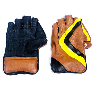 Acorn Cricket Wicket Keeping Gloves - Comfortable (Foum Ping Pong Model)