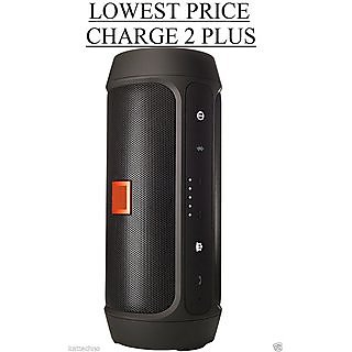 Charge 2 Plus Black Portable Mobile/Tablet Speaker