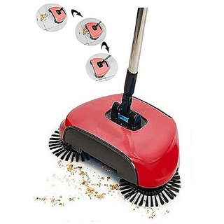 NearDealz Plastic Medium Automatic Push 360 Rotating Broom Sweeper Mop - (Premium)