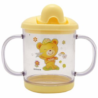 Krishnam Presents Baby Cute Stylish Bpa Free Unbreakable Sippy Cup Training Gravity Sipper Cup