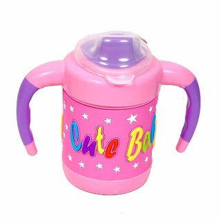 Krishnam Presents Baby Cute Stylish Bpa Free Unbreakable Sippy Cup Hard Spout Infant PP Water/Gravity Sipper Cap