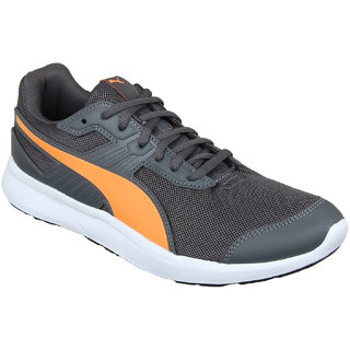 4ae71b5b3b15 Buy Puma Men S Escaper Mesh Iron Gate-Shocking Orange-P Orange Sports Shoe  Online - Get 36% Off