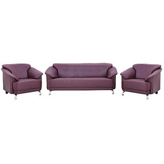 houzzcraft edo (3+1+1) sofa set