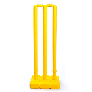 Acorn Cricket Plastic Stump Set Wicket Set (Reasonable Rate) - Top Quality
