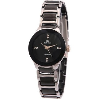 New iik women watch silver black