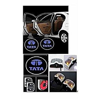 TATA Logo Car Shadow Door Light / Ghost Shadow Door Lights with TATA Logo for All TATA Cars (works with all cars)