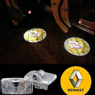 Renault Logo Car Shadow Door Light / Ghost Shadow Door Lights with Renault Logo (works with all cars)