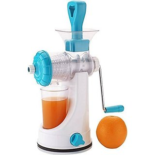 Splendid - Hand Juicer for Fruits and Vegetables - Manual Juicer with Glass Without Electricity/Power- Assorted Colors
