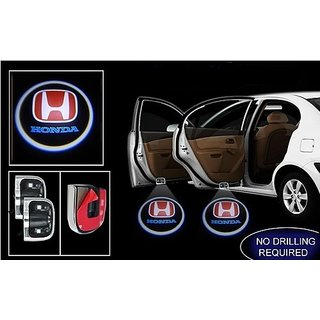 Honda Logo Car Shadow Door Light / Ghost Shadow Door Lights with Honda Logo for All Honda Cars (works with all cars)