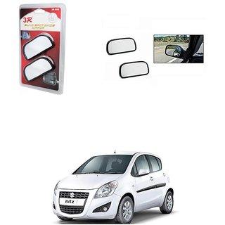 KunjZone 3R Wide Rectangle 3r066 Car Blind Spot Side Rear View Mirror (Set of 2) For Maruti Suzuki Ritz