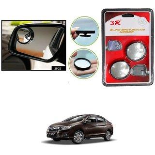 KunjZone Set of 2 Brand New Round Shaped Rear Side Blind Spot Mirror For Honda City i-Dtec