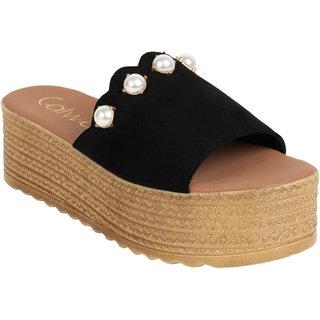 fd91794a410 Buy Catwalk Women s Black Platform Heels Online - Get 20% Off
