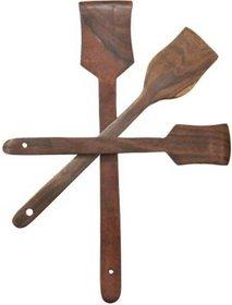 Triple S Handicrafts Wooden Spatula set of 3