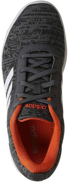 Grey Mesh Running Sports Shoes