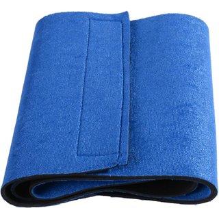 Men Women Waist Trimmer Exercise Other Slimming Belt Wrist Support (Free Size Blue).