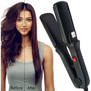 Professional Solid Smooth Ceramic Anti-Static Travel Hair Straightener Flat Hair Iron Hair Styler Salon Style Tool 45W