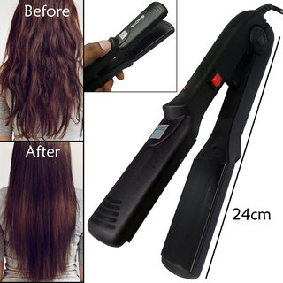 Slik Smooth Care Professional Ceramic Travel Hair Straightener Flat Iron Instant Heat Up Hair Styler Styling Tool 45W